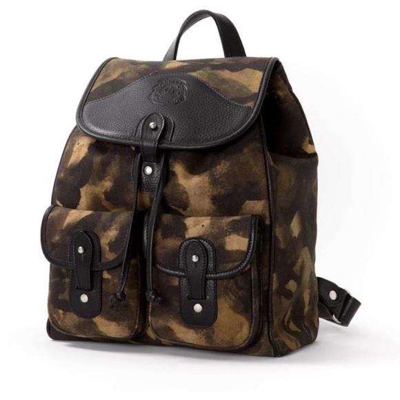 Ghurka Handbags - GHURKA TWILL BACKPACK | CAMO